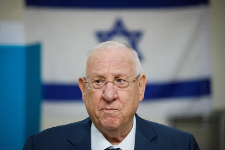 президент Израиля реувен ривлин фото
