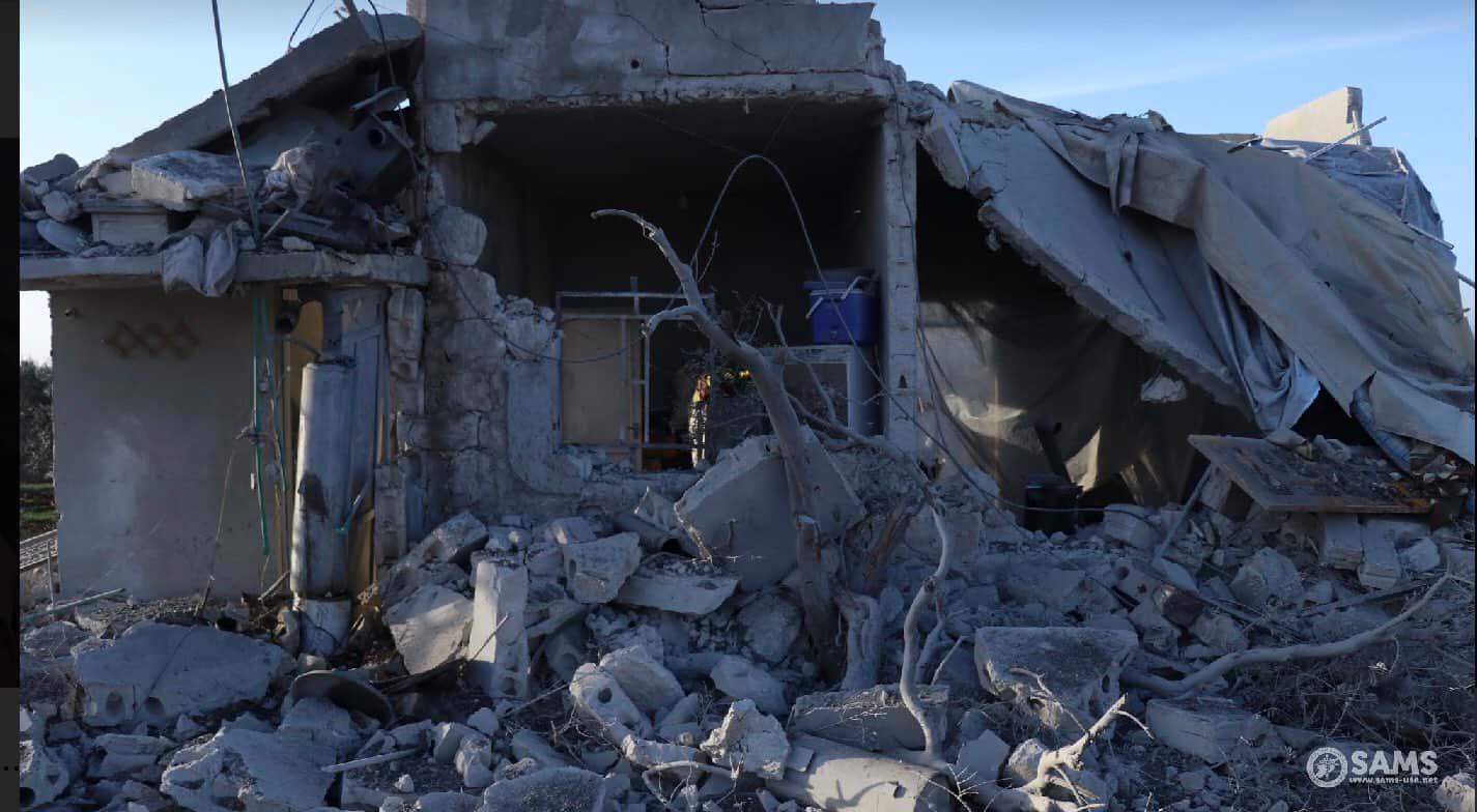 Российская авиация атаковала ферму с беженцами в Сирии фото