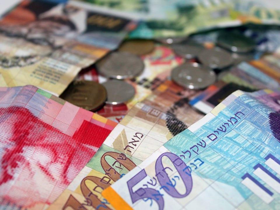 деньги израиля шекель фото