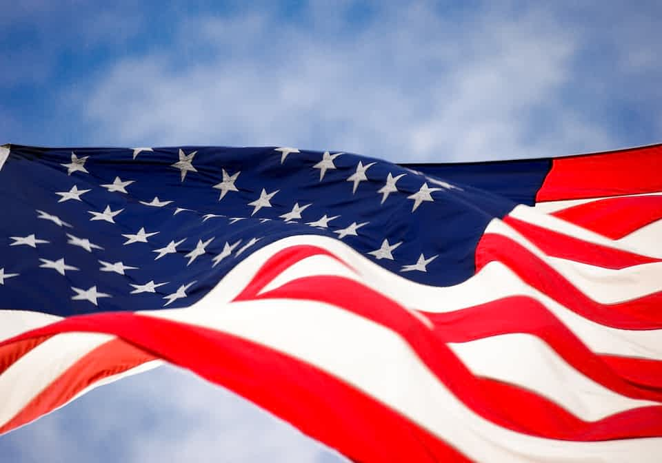 флаг США фото