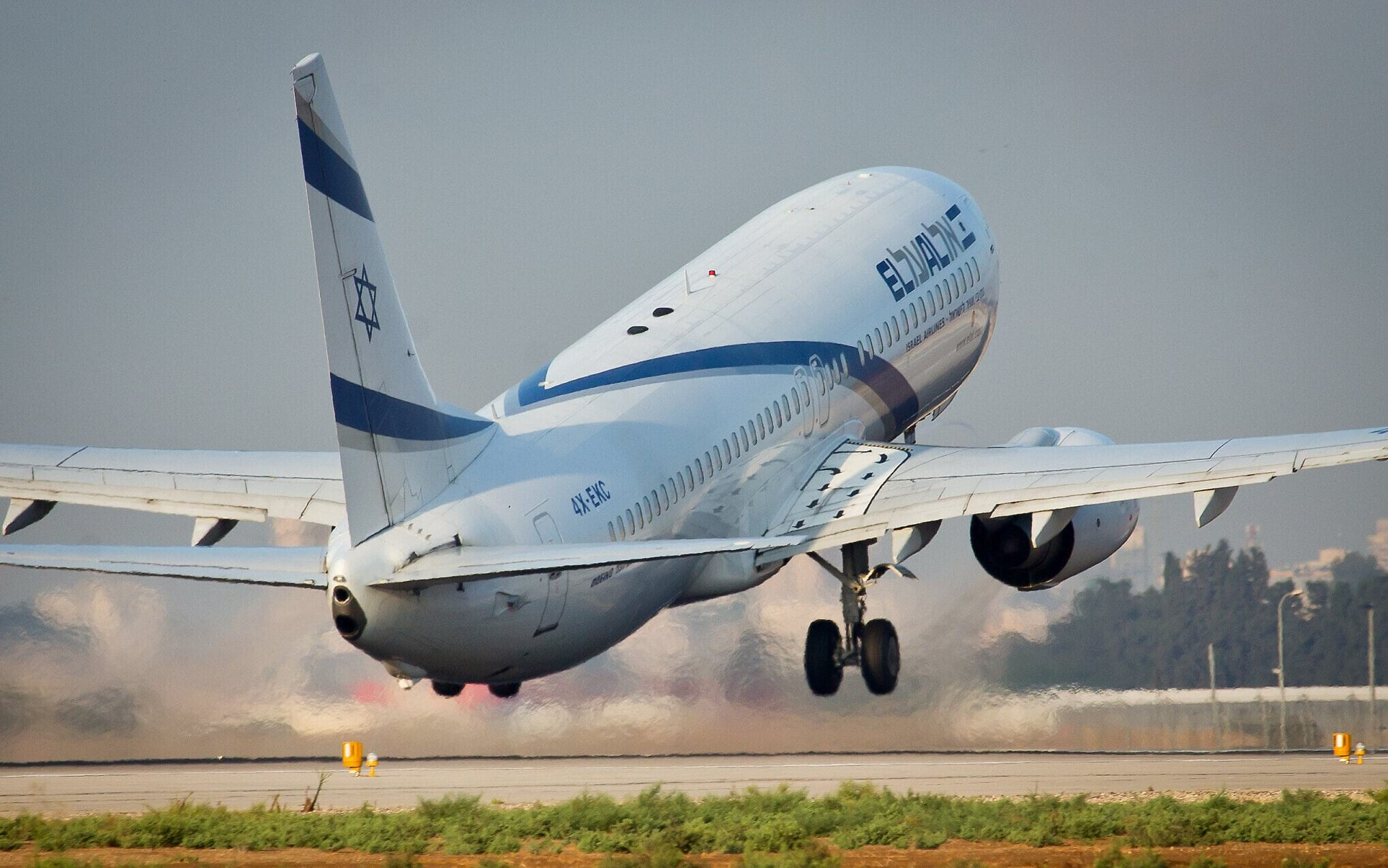 самолет эль аль израиль фото