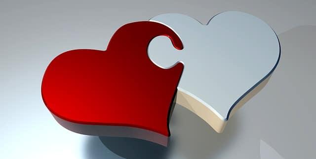 Сердце пазл картинка иллюстрация