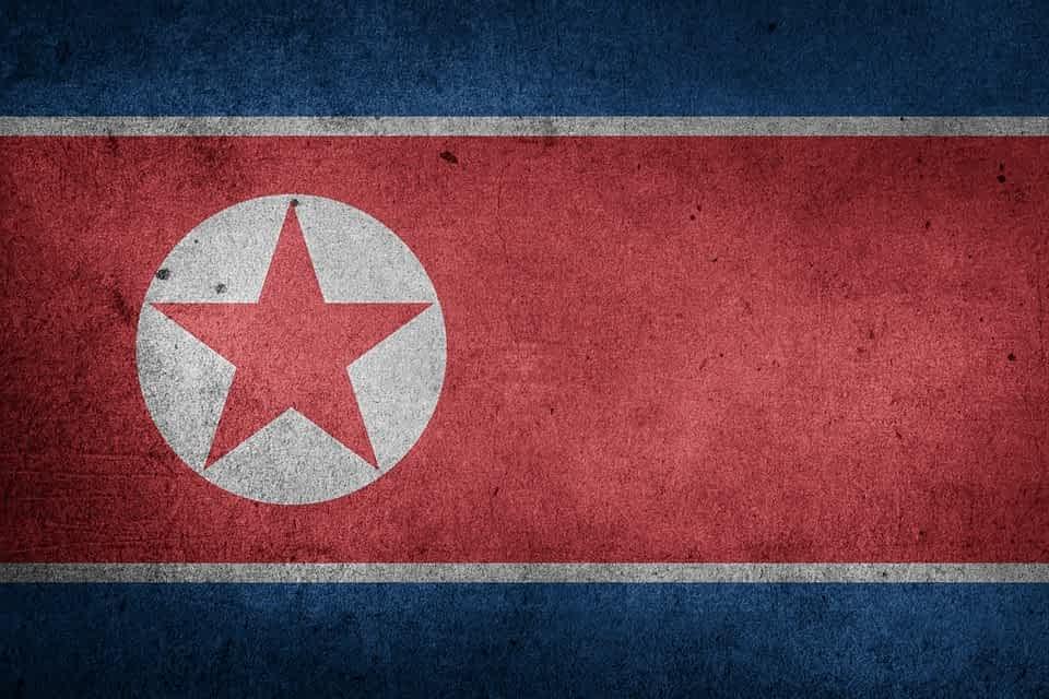 северная корея флаг фото