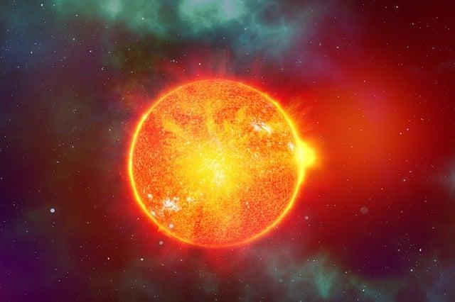 Солнце планета изображение