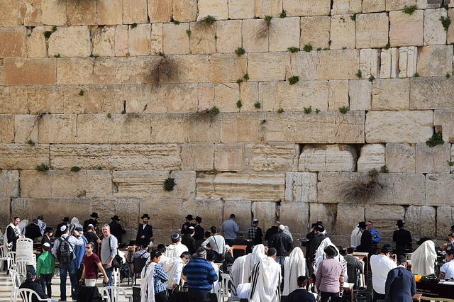 Стена Плача в Иерусалиме фото