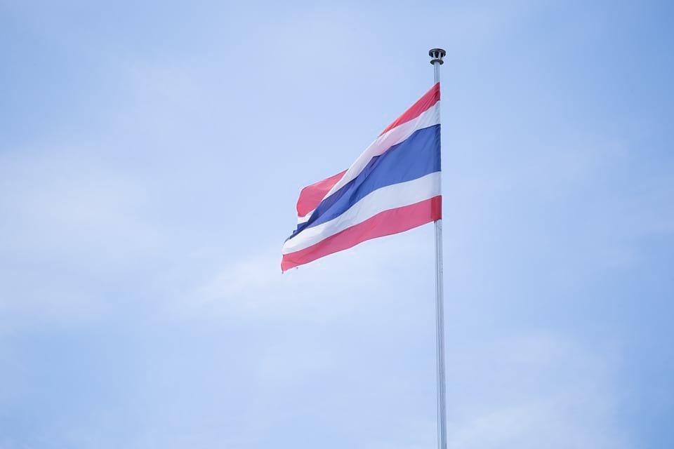 флаг королевства таиланд фото