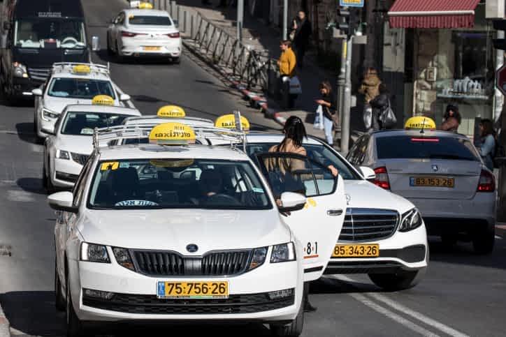 Taksi v Ierusalime
