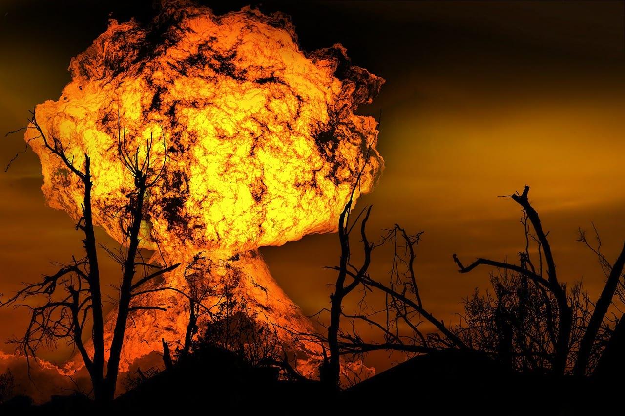 взрыв фото