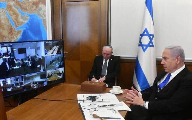 Заседание израильского правительства фото