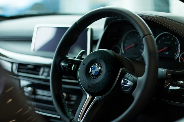BMW руль фото
