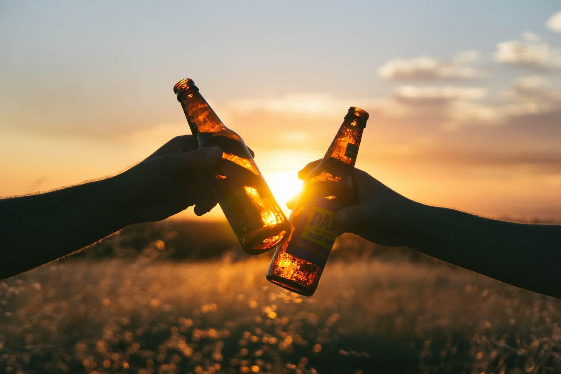пиво в бутылке фото