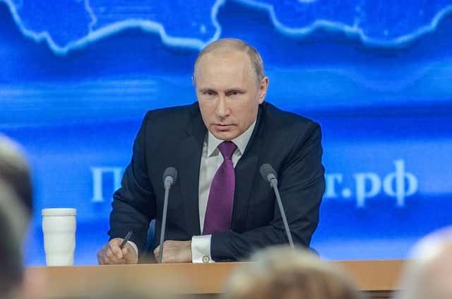 Владимир Путин РФ иллюстрация