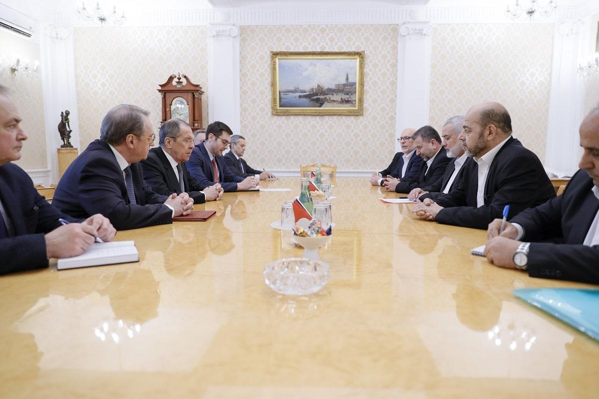 s predsedatelem Politbyuro palestinskogo dvizheniya HAMAS I.Haniej