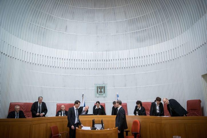 верховный суд израиль фото