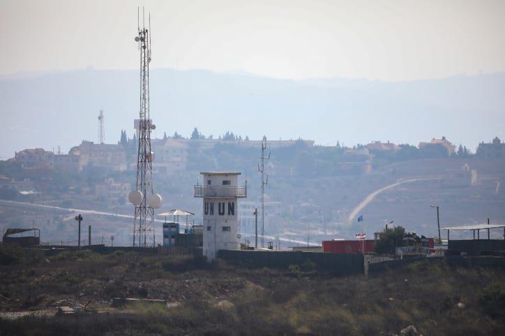 База миротворцев на границе Израиля и Ливана фото