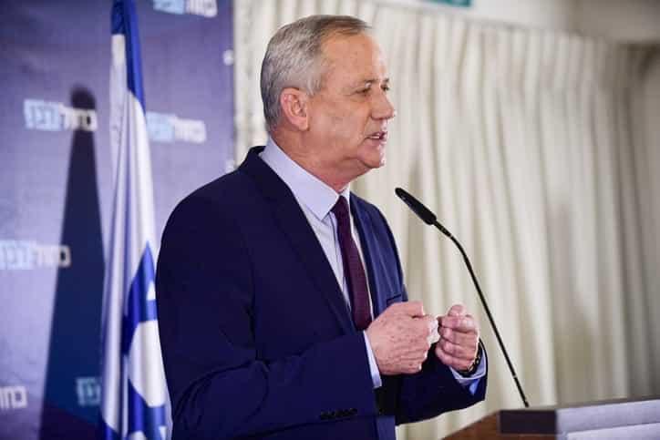 бенни ганц израиль