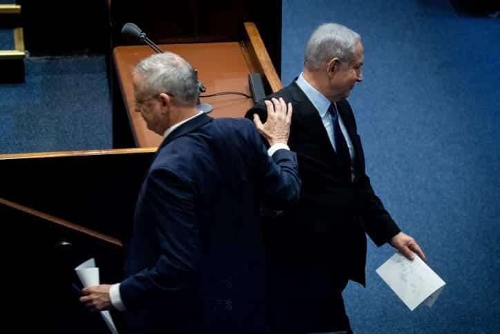 бенни ганц биньямин нетаниягу израиль фото