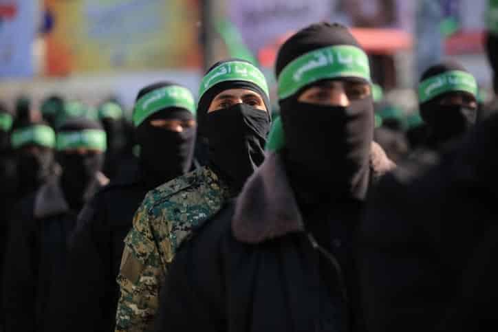 Боевики ХАМАСа фото