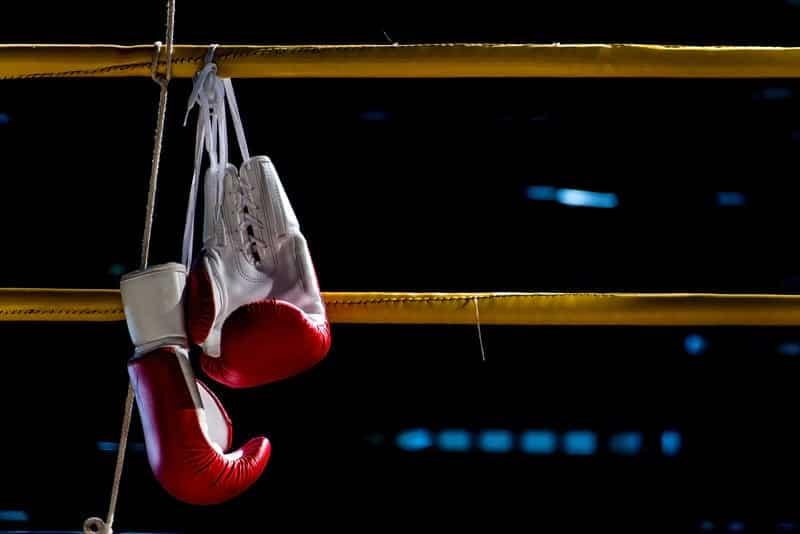 Бокс перчатки фото