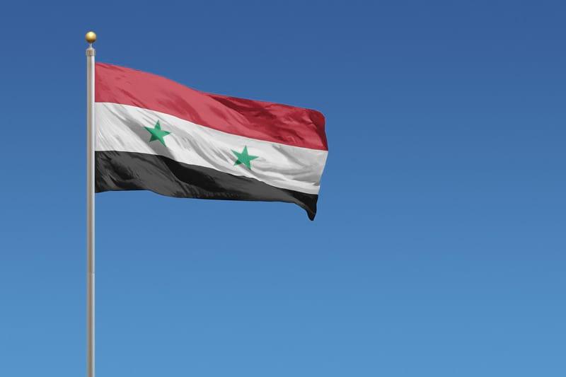 Флаг Сирии фото