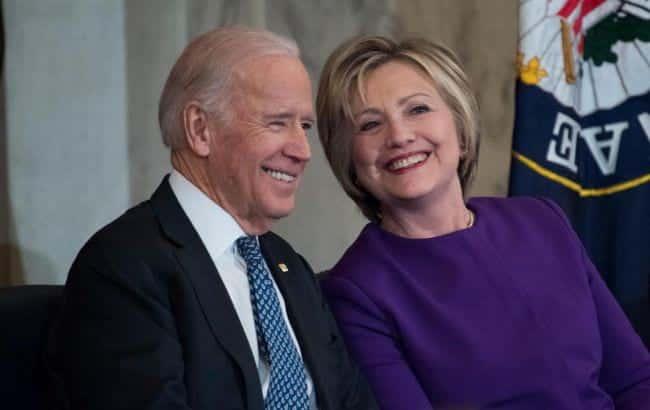Dzho Bajden i Hillari Klinton