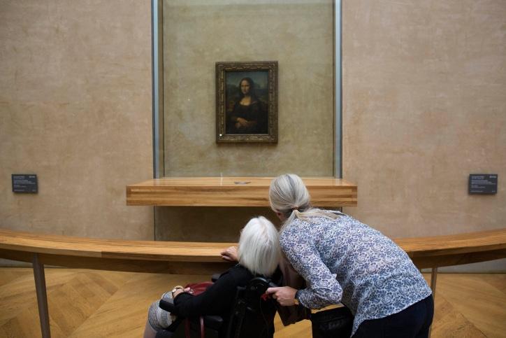 """Картина """"Мона Лиза"""" фото"""