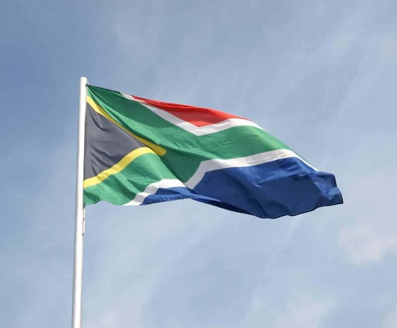 Флаг ЮАР фото