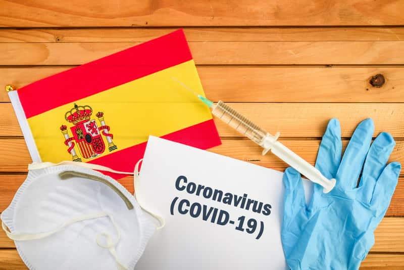 коронавирус в испании картинка
