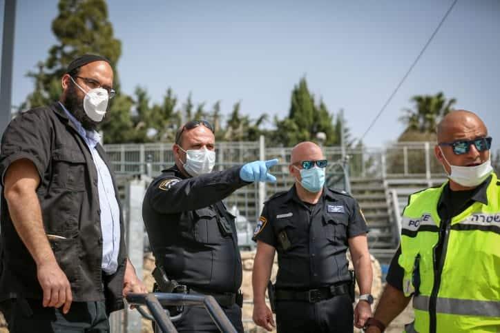 полиция израиль фото