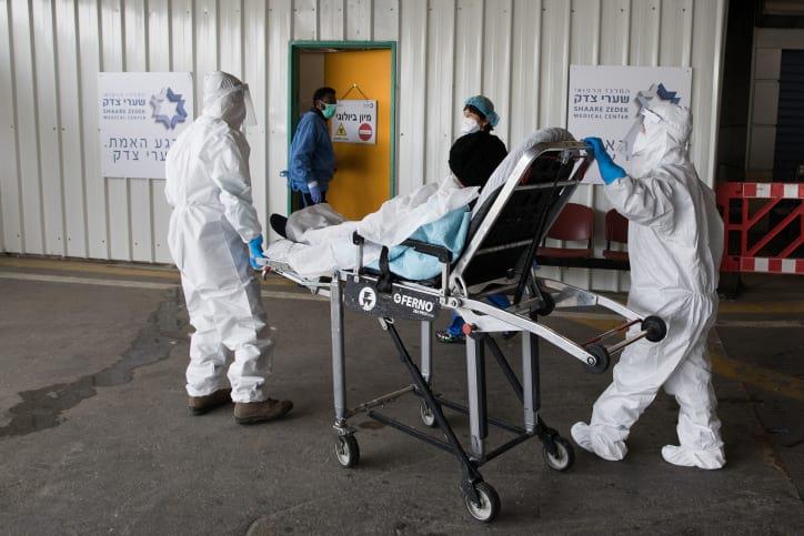 Izrailskie mediki gospitaliziruyut bolnogo COVID 19