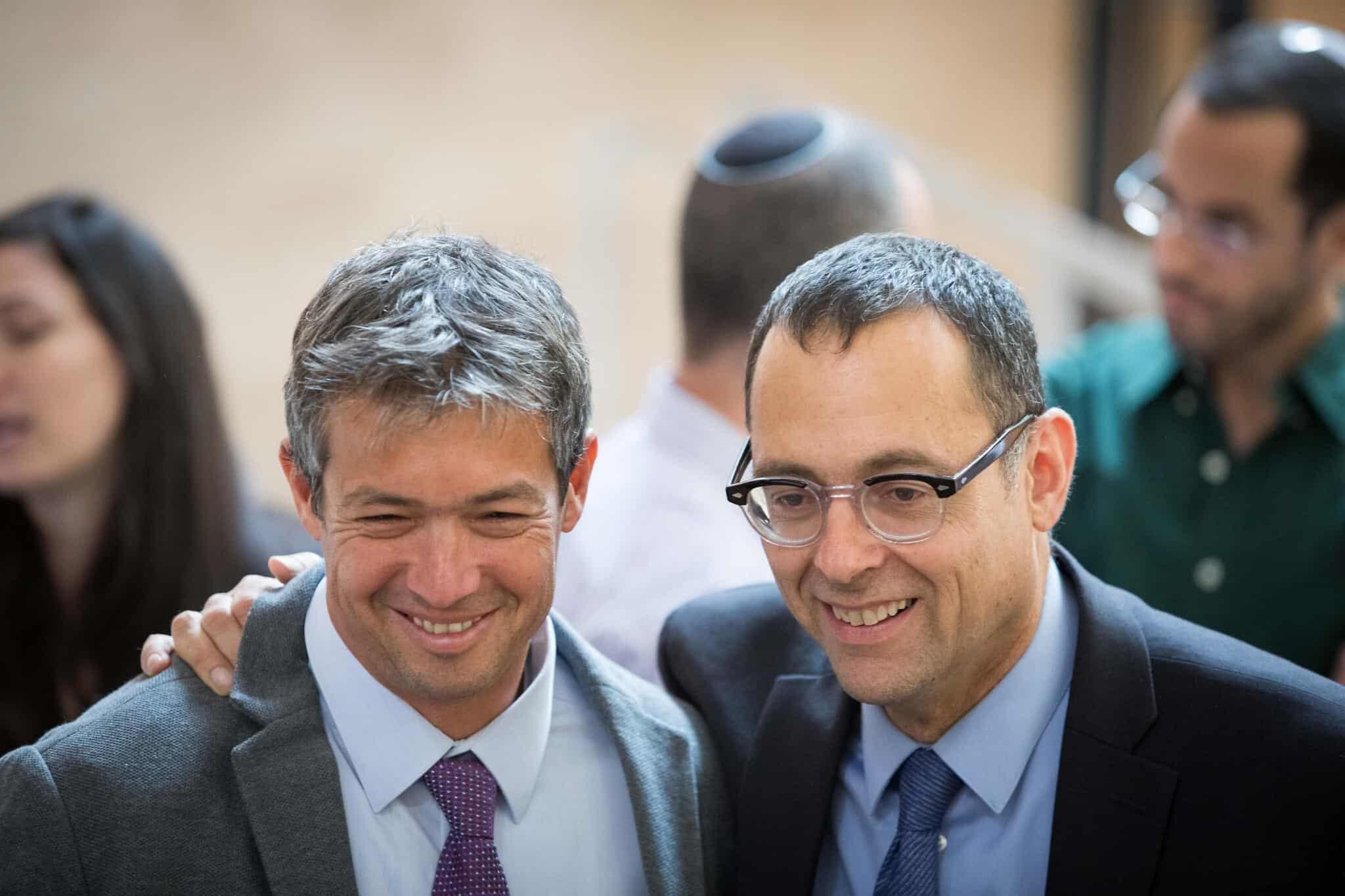 Joaz Hendel i TSvi Hauzer