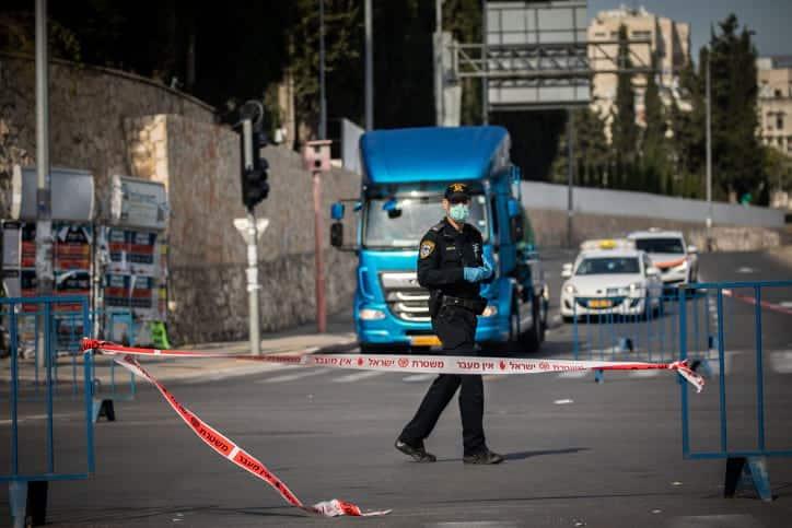 карантин израиль улица фото
