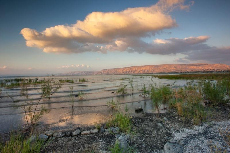 В озере Кинерет резко поднялся уровень воды