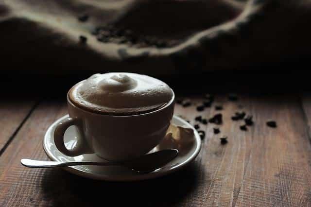 чашка кофе с пенкой фото