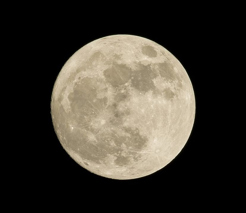 Луна спутник земли иллюстрация