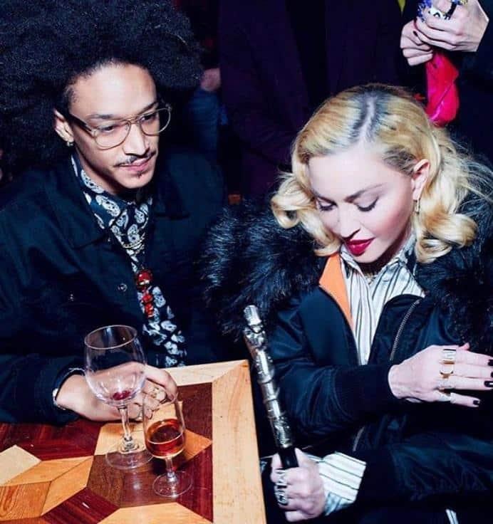 Madonna i ee novyj bojfrend