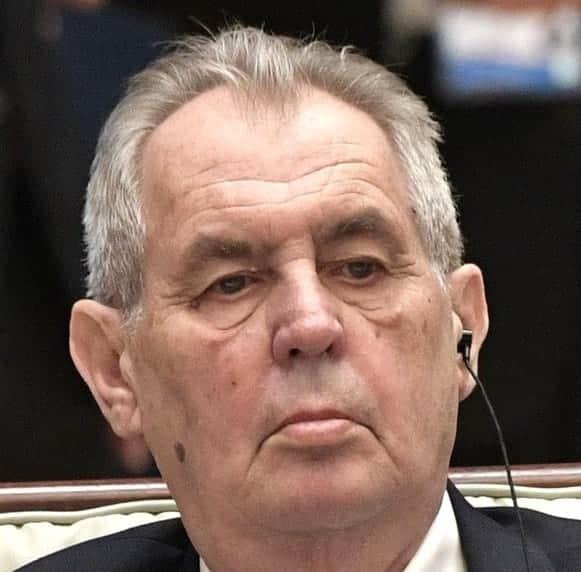 президент Чехии Милош Земан фото