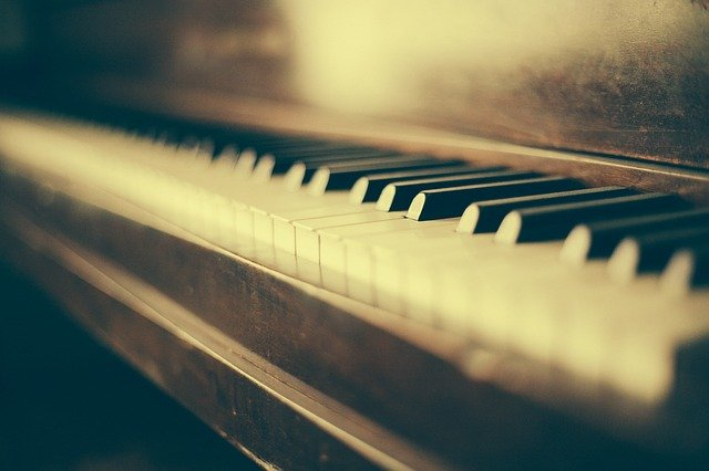 пианино музыка фото