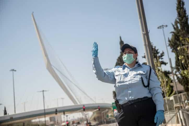 Ofitser izrailskoj politsii