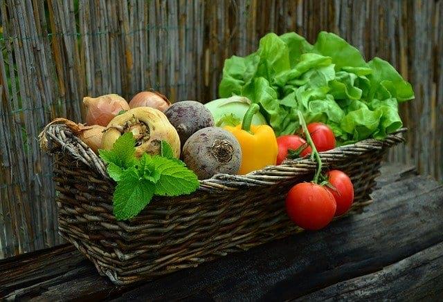 корзина овощей фото