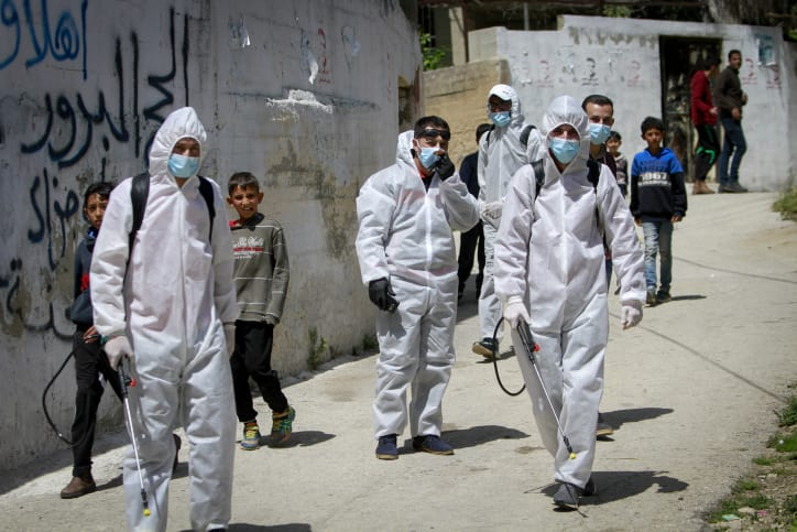 Палестинские работники коронавирус фото