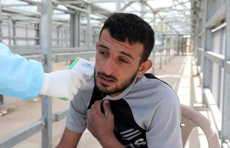 палестинский рабочий израиль фото