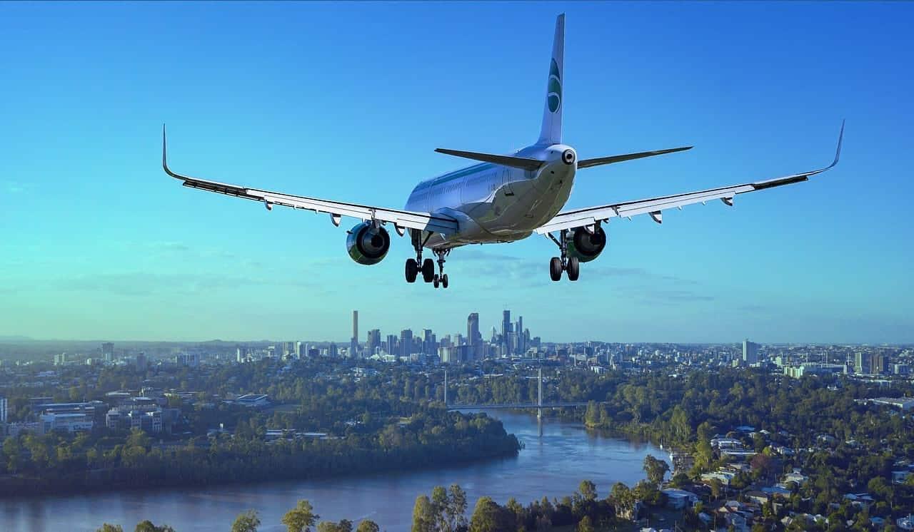 самолет туристы посадка фото
