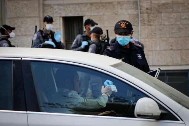 Politsiya proveryaet voditelej v Meah SHerime