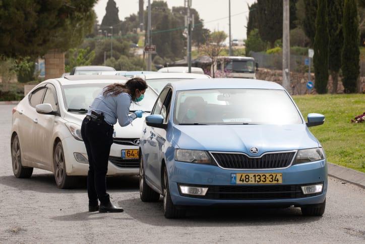 Politsiya proveryat avto napravlyayushhiesya v Ierusalim