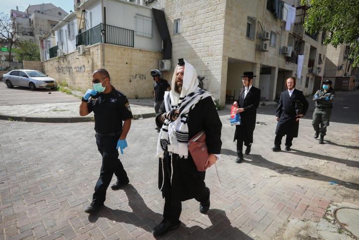 Politsiya zakryla sinagogu v Bejt SHemeshe