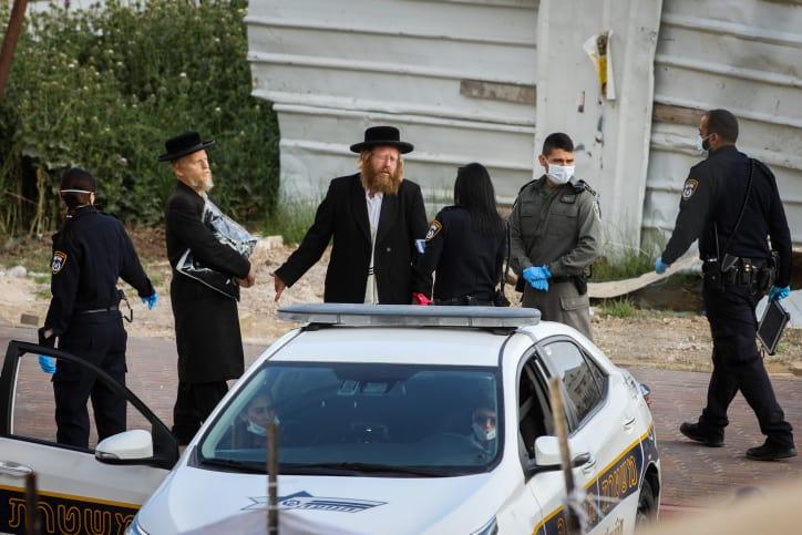 Politsiya zakryvaet sinagogu v Bejt SHemeshe