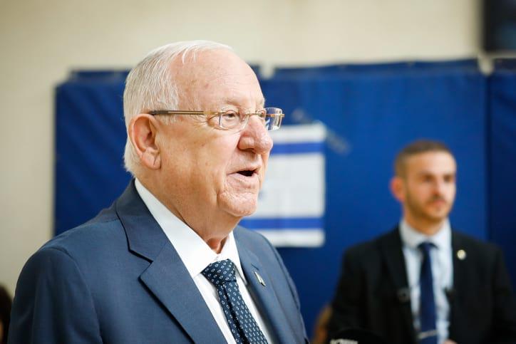 Prezident Izrailya Reuven Rivlin