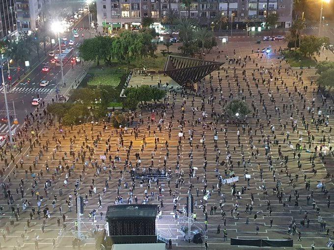 Protest v Tel Avive