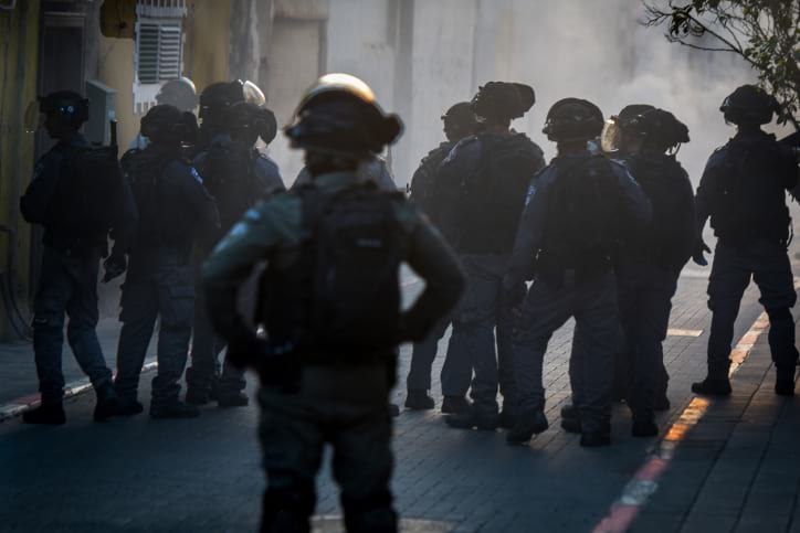 Протесты Яффо фото